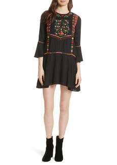 Joie Gosinda Embroidered Dress