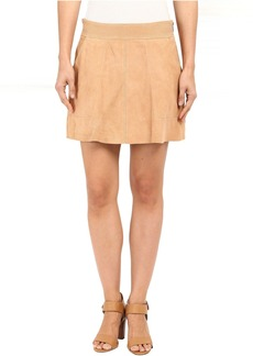 Joie Graton Suede Skirt