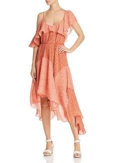 Joie Hacinthia Asymmetric Silk Dress