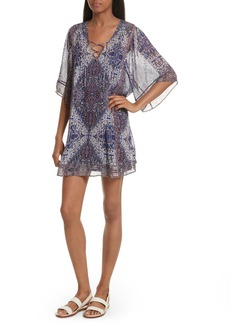 Joie Hadiya Print Silk Dress