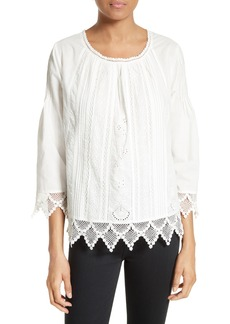 Joie Hadlee Lace Top