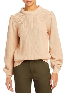 Joie Harlequin Mock Neck Sweater