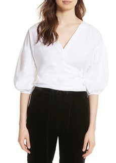 Joie Hausu Bow Back Blouse