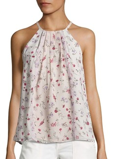 Joie Hawn Floral Silk Blouse