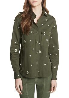 Joie Hayfa Embellished Shirt