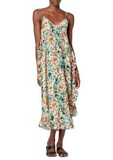 Joie Hayworth Ruffle Silk Slipdress
