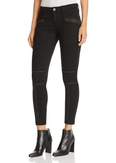 Joie Hazina Studded Skinny Jeans in Fatigue