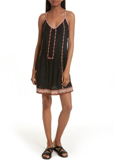Joie Horlane Embroidered Slipdress