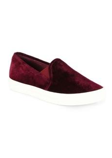 Joie Huxley Velvet Skate Sneakers