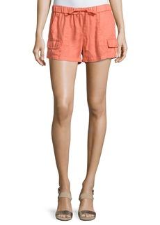 Joie Ilya Short Linen Cargo Shorts