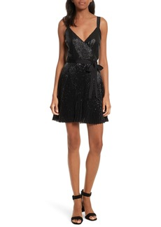 Joie Itara Sequin Mesh Dress