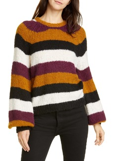 Joie Izzie Stripe Raglan Sweater
