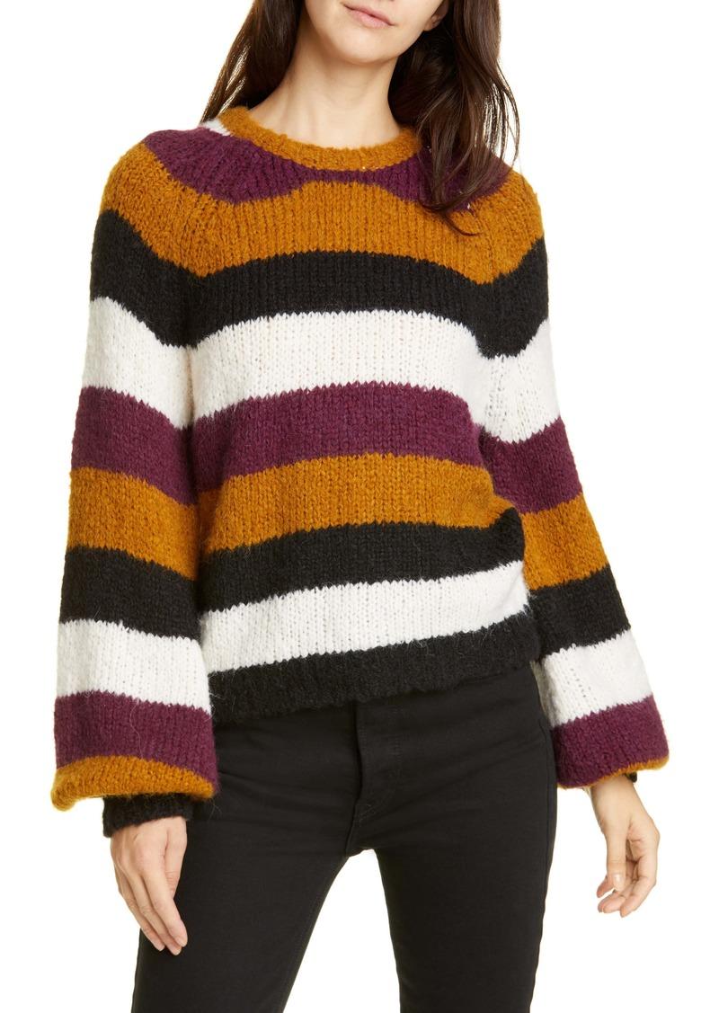 Joie Izzie Stripe Raglan Sweater