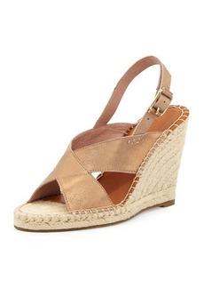 Joie Jace Crisscross Slingback Wedge Sandal