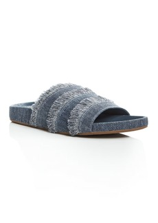 Joie Jaden Denim Pool Slide Sandals
