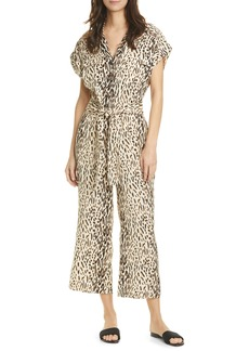 Joie Jailee Button Front Jumpsuit