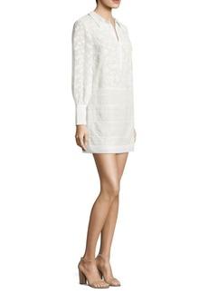 Jamari Floral Button-Front Dress