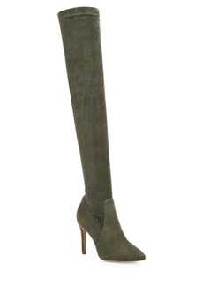 Joie Jemina Stretch Suede Over-The-Knee Boots