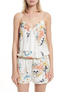 Joie Jerrica Floral Drawstring Romper