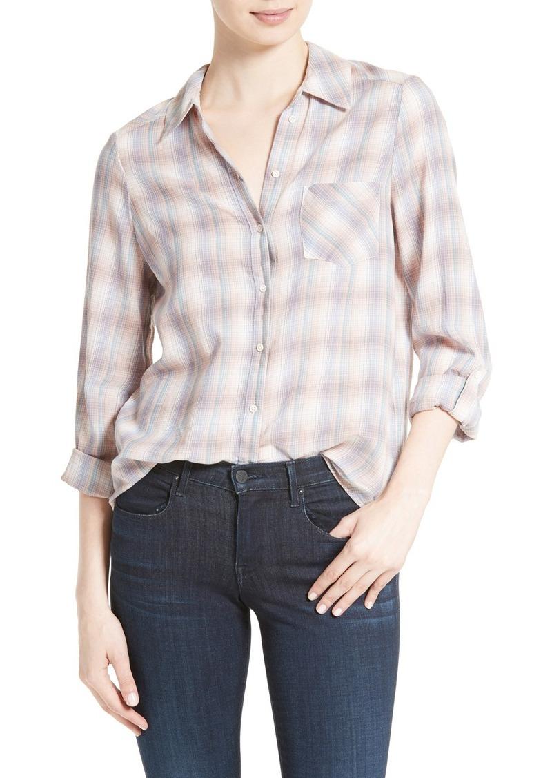 Joie Jerrie Plaid Shirt