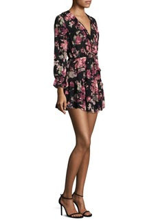 Joada Silk Mini Dress