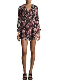 Joie Josada Floral-Print Ruffled Mini Dress
