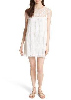 Joie Joseba Lace Yoke Minidress
