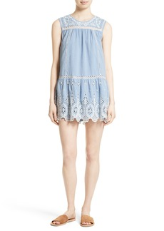 Joie Josune Chambray Shift Dress