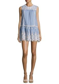 Joie Josune Embroidered Cotton Dress