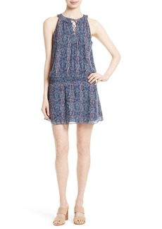 Joie Juergen Silk Blend A-Line Dress