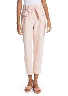 Joie Jun Cotton & Linen Ankle Pants