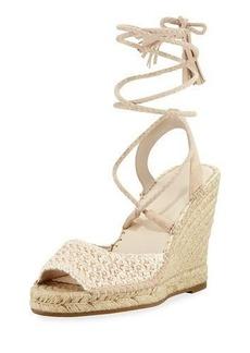 Joie Kacy Raffia Wedge Espadrille Sandal
