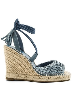 Joie Kacy Wedge in Blue. - size 38 (also in 38.5,40)
