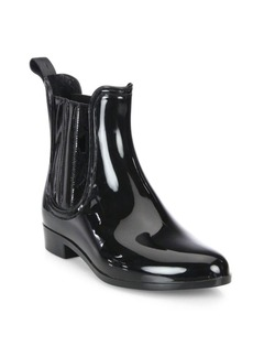 Joie Kada Patent Leather Rain Booties
