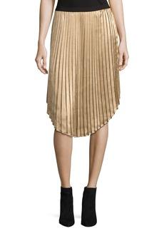 Joie Kambree Pleated Midi Skirt