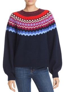 Joie Karenya Fair-Isle Sweater