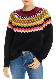 Joie Karenya Fair-Isle Sweater