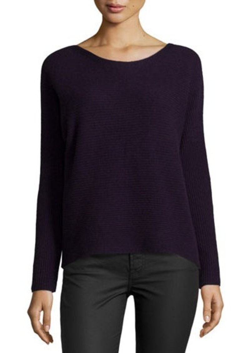 Joie Kerenza Soft-Drape Ribbed Sweater