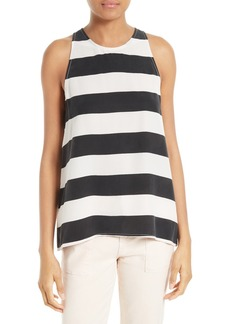 Joie Kia Stripe Silk Top