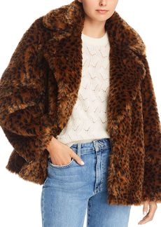 Joie Kisha Faux Fur Jacket