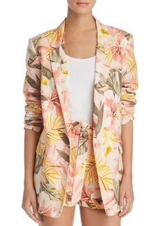 Joie Kishina B Floral-Print Blazer