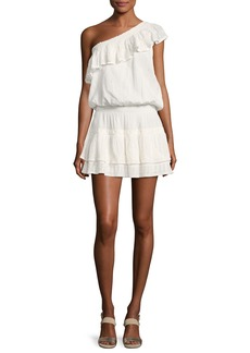 Joie Kolda One-Shoulder Cotton Dress