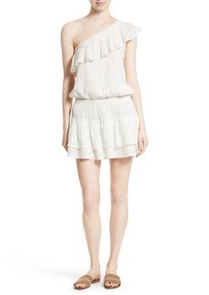 Joie Kolda Ruffle One-Shoulder Dress