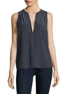 Joie Kotahi Stripe Silk Shirt