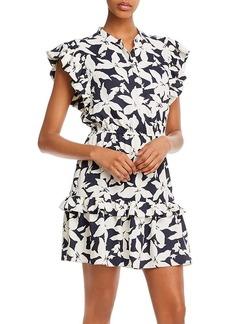 Joie Krystina Printed Mini Dress