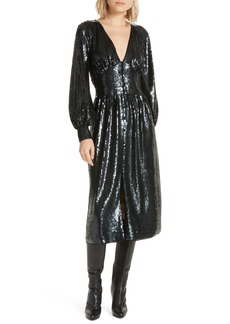 Joie Kyria B Sequin Midi Dress