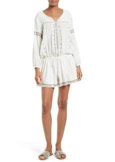 Joie Laka Embellished Peasant Dress Dress