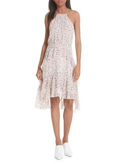 Joie Lamberta Tiered Print Silk Dress