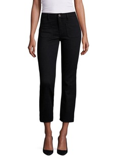 Joie Laney Cropped Flared Jeans