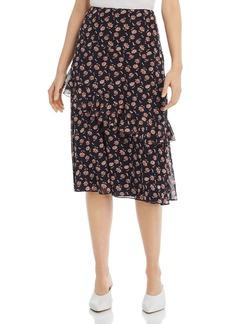 Joie Langlee Floral-Print Silk Midi Skirt - 100% Exclusive